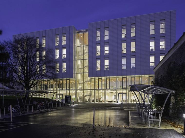 英国诺丁汉大学新教学楼
