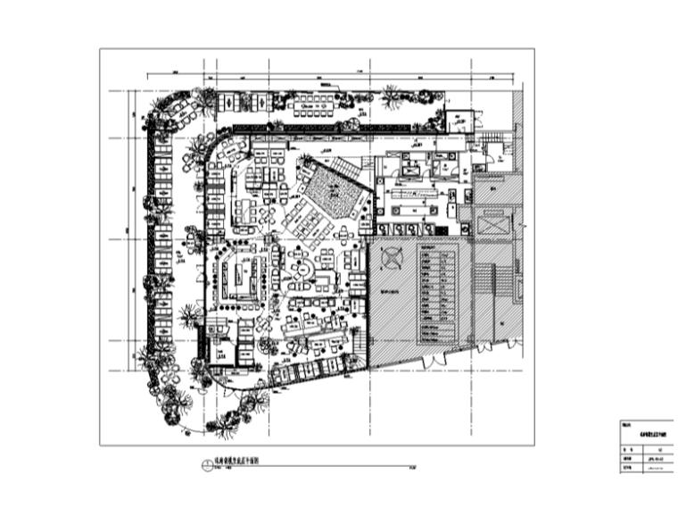 胡桃里音乐餐厅室内装修设计整套施工图及效果图