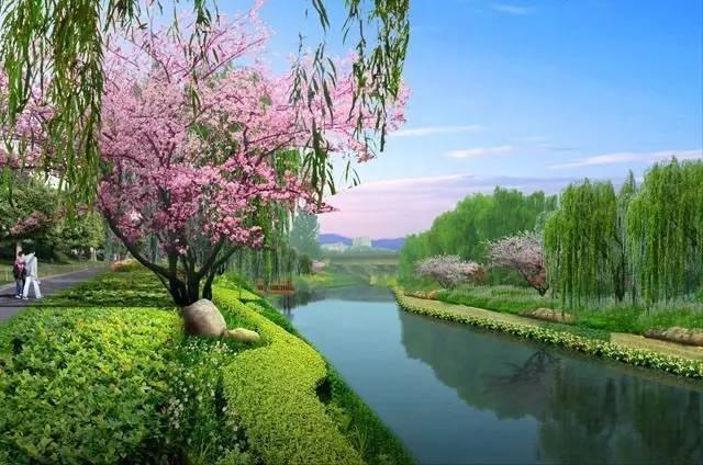 河道景观设计巧思