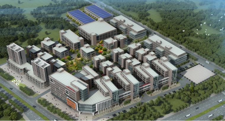 [山东]国际创业园工程绿色施工科技示范工程汇报材料PPT(43页)