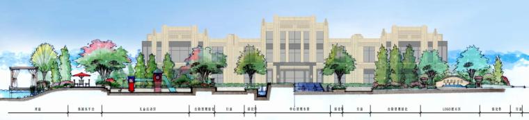 [苏州]金厦张家港梁丰生态园南侧地块展示中心概念方案设计B-6剖面图