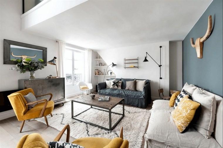 [欧模网]巴黎优雅精致LOFT公寓