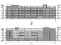 [山东]四层框架结构小学教学楼结构施工图(含建筑图)
