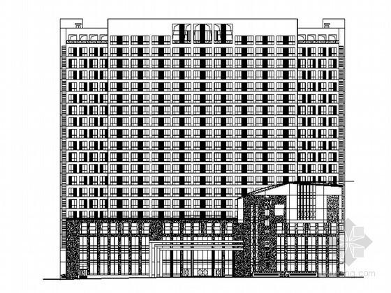 [安徽六安]某二十层中医院综合病房大楼建筑施工图