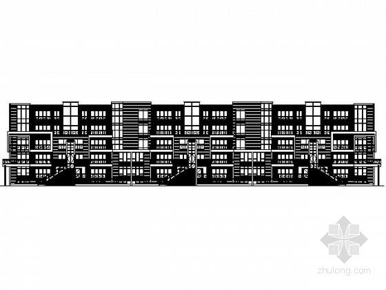 [武汉]某五层花园洋房建筑施工图