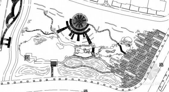 [福州]高级住宅区景观规划设计施工图