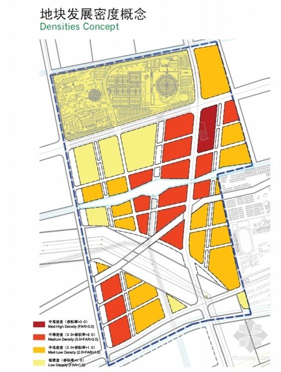 [上海]大型生态体育中心规划设计方案文本(知名事务所)-大型生态体育中心规划设计分析图