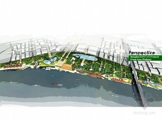 [上海]滨水生态世博园景观规划方案