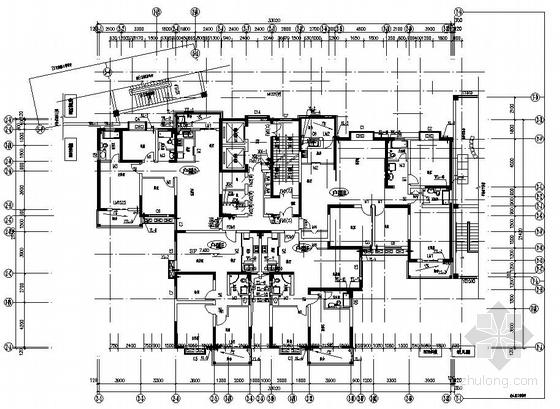 安徽某高层住宅楼的给排水成套图纸