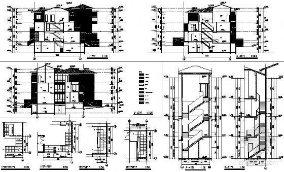 丹堤C区29号楼建筑施工图-2