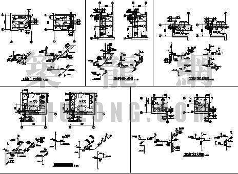 天津某别墅的给排水设计施工图