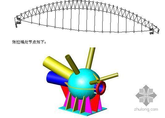 山东某展厅钢结构预应力张拉施工方案