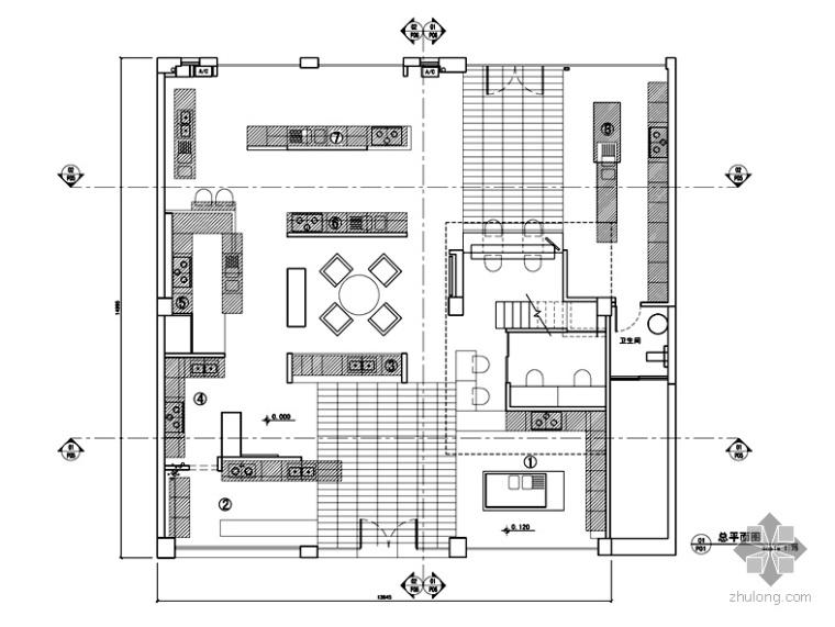 [广东]某厨卫品牌形象展厅设计图(含实景)