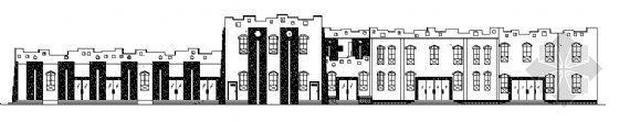 某景区二层游客中心建筑施工图