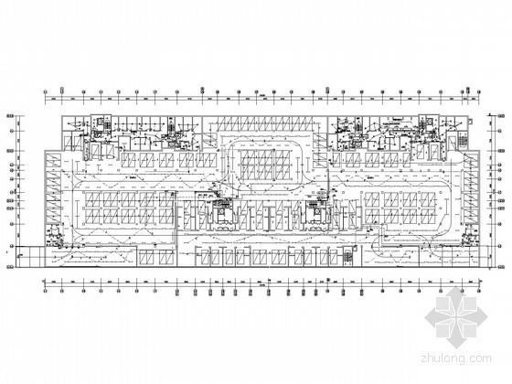 一类高层住宅楼地下车库全套电气施工图纸(含二次原理图)