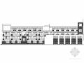 某小学四层哈佛红风格教学楼建筑图