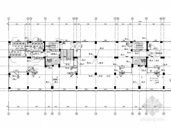 [湖北]二类高层商住楼给排水消防施工图