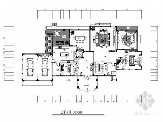 [原创]现代风格四层别墅施工图(含效果图)