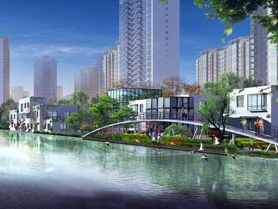 [广东]现代岭南水乡风情城市规划设计文本