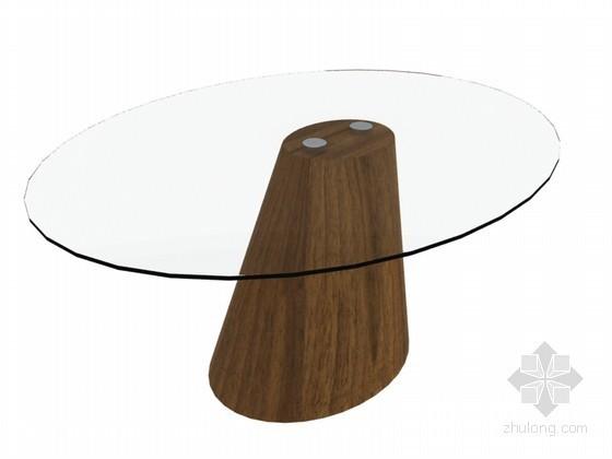 休闲茶几3D模型下载