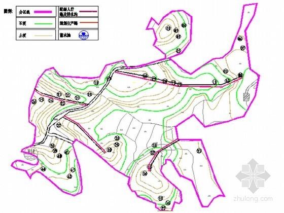 土地整理工程施工设计报告(含农田水利 田间道路 CAD图203张)