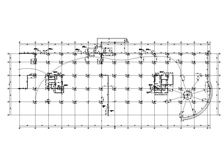 [黑龙江]两栋三层框架结构商业楼结构施工图