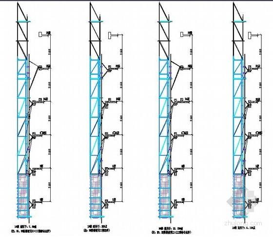 [江苏]剪力墙结构高层住宅楼导轨式爬架专项施工方案(XHR-01型导轨式爬架)
