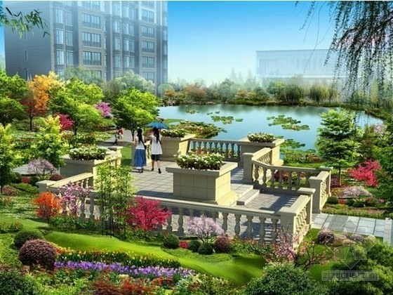 [山东]旅游服务中心项目园林景观专业分包工程结算书(结算价740万元 324页)