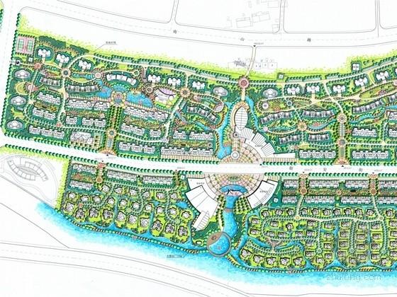 [浙江]都市文化高档居住区景观规划设计方案