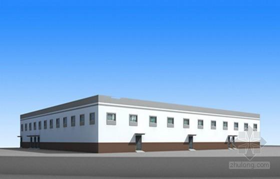 [山东]制药厂动力车间建安工程量清单计价实例(含工程量计算 施工图纸)