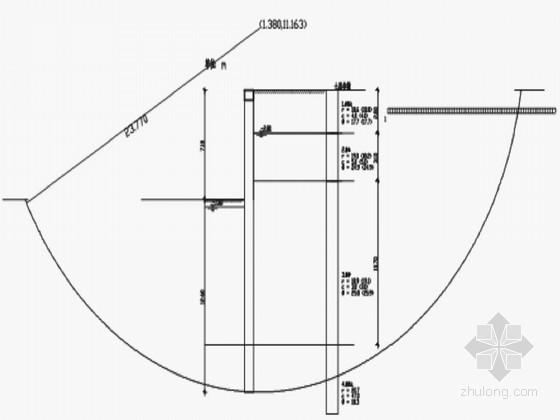 [江苏]某大厦深基坑支护结构设计计算书(放坡 排桩)