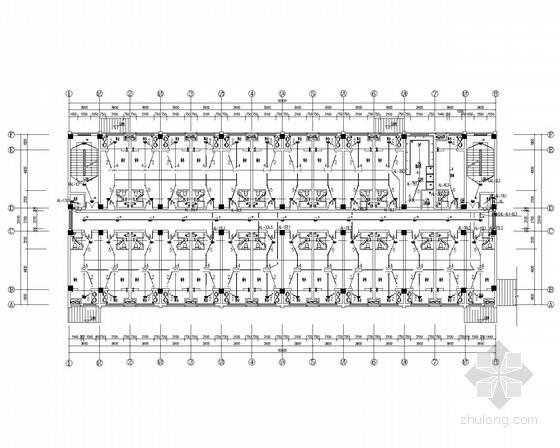 [江苏]知名综合校区中小学宿舍食堂电气全套施工图(甲级院最新设计)