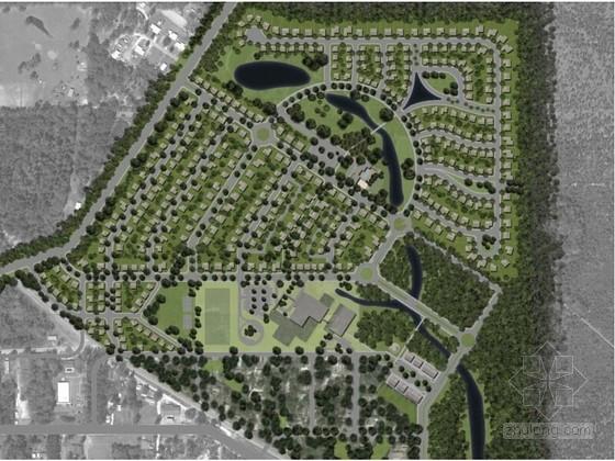 [佛罗里达州]互动综合性社区景观规划设计文本