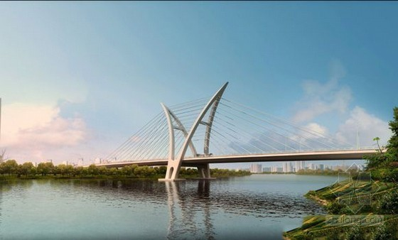 特大斜拉桥双飞翼造型主塔超全施工方案(146页 附大量CAD图 支架平台)