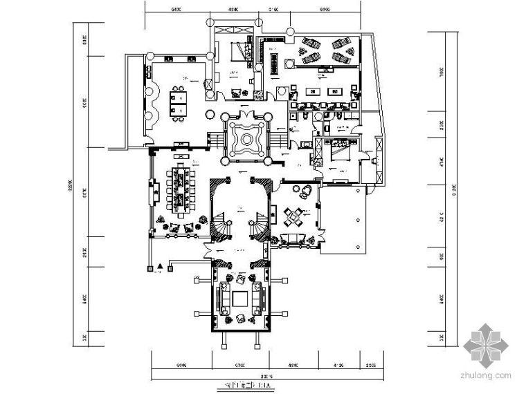 [重庆]某欧式风格别墅装修图