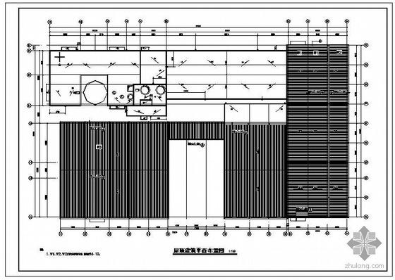 某主车间建筑结构施工图