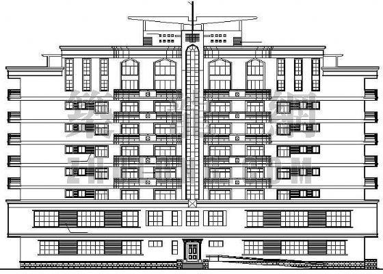 某办公楼建筑设计施工图