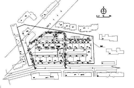 某住宅小区综合管网施工图