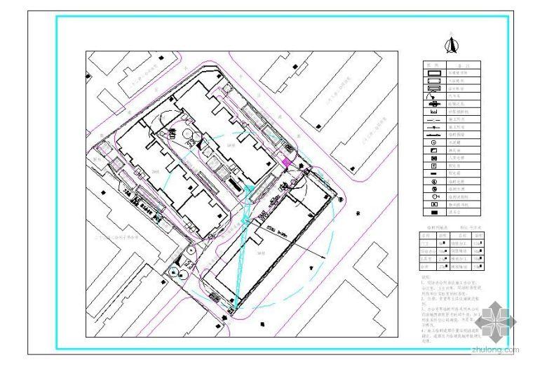 湖南省株洲市某高层住宅施工组织设计(平面布置 网络计划)