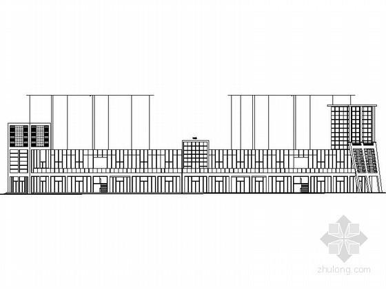 [鄂尔多斯]某十一层商务楼建筑施工图
