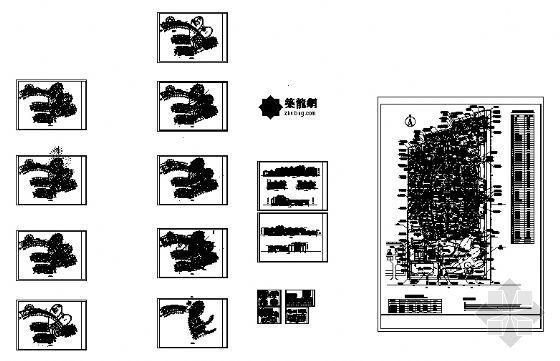 某七层酒店建筑施工图-4