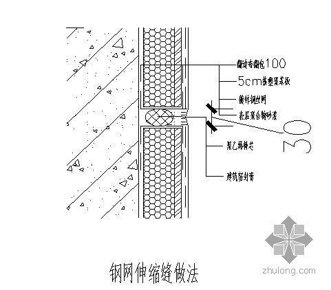 天津某经济适用房外墙外保温施工方案