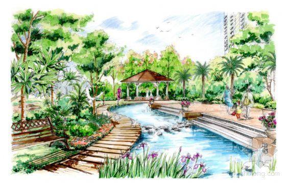 福州高档小区景观设计方案