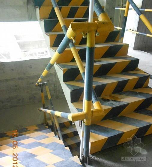 楼梯临边的防护