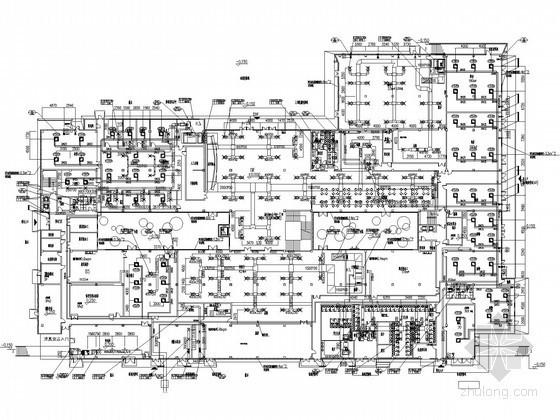 [国际]商业临时建筑空调系统设计施工图(世博会建筑)