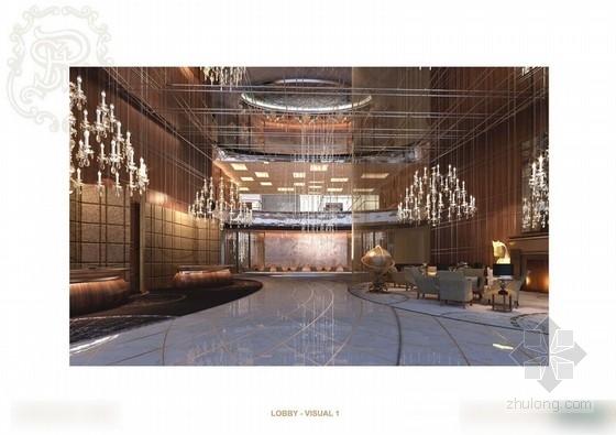 [天津]某五星级酒店公共区设计方案图