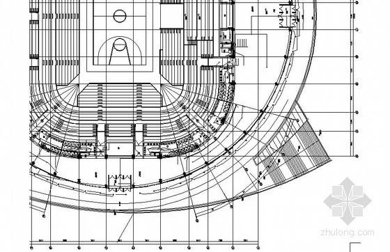[吉林]市级大型体育馆电气全套施工图(甲级院最新设计)