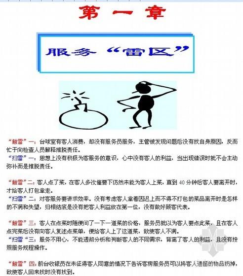 iu酒店工程手册资料下载-[青岛]商业地产(酒店)物业服务培训手册