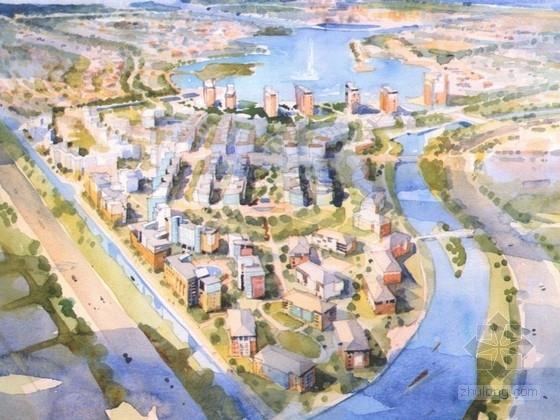 [上海]城市规划及单体设计方案文本(国外知名建筑事务所)