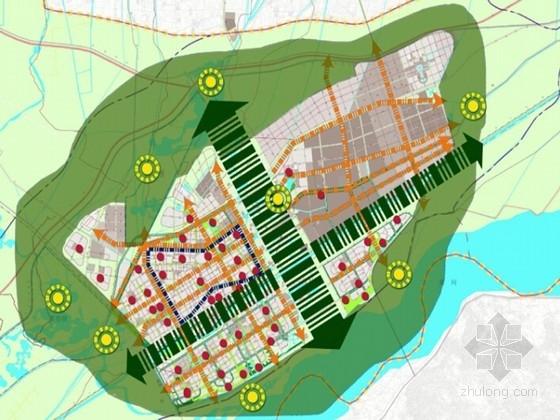 [内蒙古]现代城市绿地系统规划设计方案(知名设计院)